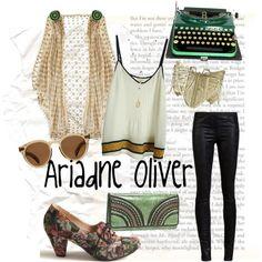 Ariadne Oliver by monkeytuesdays, via Polyvore