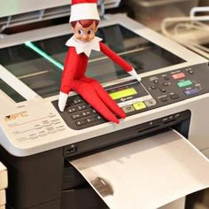 Copy This - 41 Clever Places to Put Your Elf on the Shelf (PHOTOS)