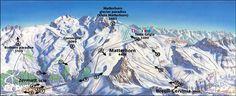 Zermatt Ski Maps Ski Holidays, Zermatt, Snowboard, Skiing, Maps, Weather, Mountains, Ski, Blue Prints
