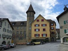 Maienfeld and the little town has a history back yo 831AD. Didn't stop but just passed through