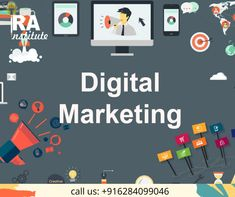 Digital Marketing course in Panchkula. Ira Institute Provide practical digital Marketing Training in Panchkula Haryana with job assistance. Digital Marketing Channels, Digital Marketing Manager, Email Marketing, Content Marketing, Affiliate Marketing, Social Media Marketing, Digital Jobs, Youtube Advertising, What Is Digital