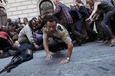Andrew Lincon on Walking Dead