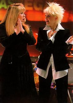 Stevie & Cyndi-  that must have been something!