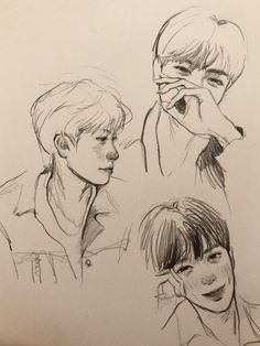 something to draw ideas Kpop Drawings, Cute Drawings, Drawing Sketches, Aesthetic Drawing, Aesthetic Art, Inspiration Artistique, Cute Art Styles, Lucas Nct, Art Reference Poses