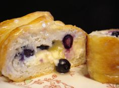 Blueberry Cream Cheese Braided Loaf Recipe - Food.com
