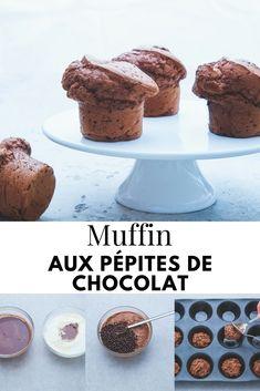 Moelleux à souhait, vous ne pourrez pas résister ! #muffins #recette #academiedugout  #chocolat #brunch #gâteau #facile