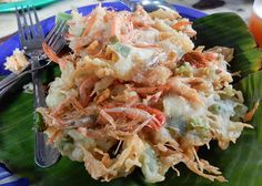 ukoy-fried-shrimp fritters from the Philippines.
