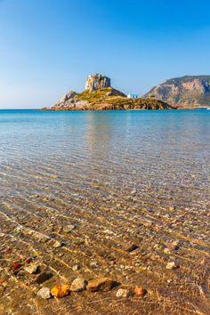 View of little island Kastri near #Kos #island #Greece http://www.tresorhotels.com/