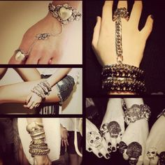 jewelry collection: bracelets