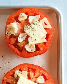 Garlic-Roasted Tomatoes Recipe