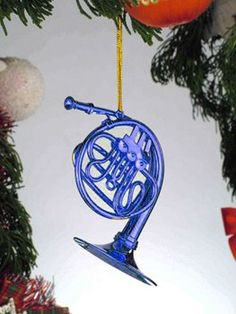 Blue French Horn Ornament From How I Met Your Mother