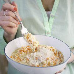 Cremiges Möhren-Risotto Rezept   Küchengötter