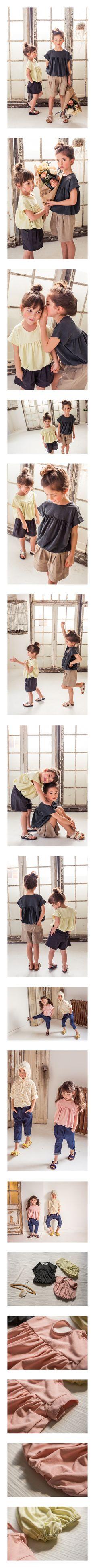 MICCA - Korean Children Fashion - #Kfashion4kids - Sand T-shirt