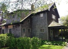 This shingled farmhouse is a little bit country, a little bit coastal. It's just up the road from a quaint general store, and two miles from the beach in Sagaponack, New York. For rental information, visit HomeAway.