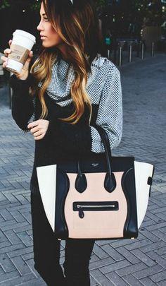 #street #style Céline bag @wachabuy