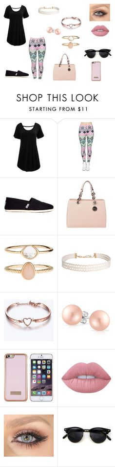 """""""Untitled #64"""" by b-bryant1816 on Polyvore featuring TOMS, MICHAEL Michael Kors, Accessorize, Humble Chic, Bling Jewelry, Ted Baker and Lime Crime"""
