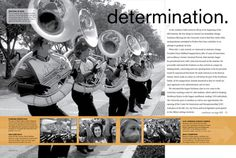 2008 - 2010 Tower Yearbook Page Design - Michael Duntz