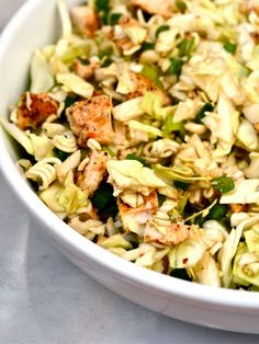 Cabbage Chicken Salad- a healthy and delicious recipe
