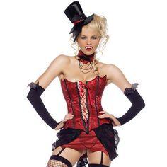 Disfraz de Vampiresa    Leg Avenue Love bite vampire woman costume    Vive para siempre en la noche y conviértete en una sensual vampiresa dispuesta a morder con este maravilloso disfraz
