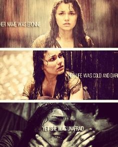 We fight here in her name.  She will not die in vain.  She will not be betrayyyyyyyed.  #feels