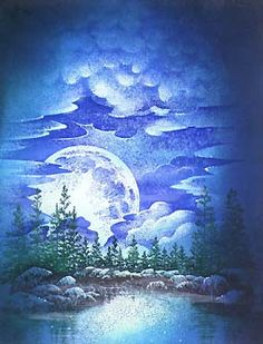 9-Step Progression Lesson -Full Moon over the Lake
