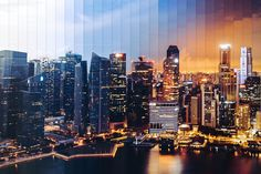 Singapore in 32 photos over 1 hour 15 minutes. Time Slice by Dan Marker-Moore ( Time Lapse Photography, Photography Day, Photography Workshops, Creative Photography, Photography Tutorials, Creative Photos, Light Painting, Photomontage, Videography