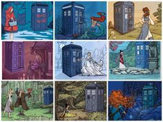 Doctor Who Disney Princesses