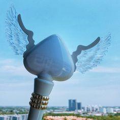 โพดำบง/ นางฟ้าโพดำ ♠ 2NE1 OFFICIAL LIGHTSTICK VER.2 (Last ver.) #2ne1 #lightStick #lightsticks #kpop #blackjack #spade #angel #yg #ygfamily