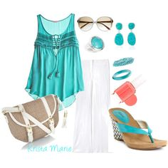 Polyvore is endless fun...