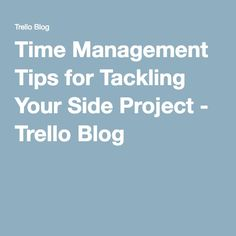 Productivity master Kevan Lee of Buffer shares some creative solutions for managing your time. Time Management Tips, Projects, Blog, Log Projects