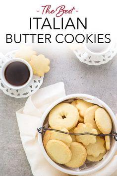 Cookie Brownie Bars, Cookie Desserts, Cookie Recipes, Dessert Recipes, Bar Recipes, Cookie Swap, Yummy Recipes, Italian Butter Cookies, Butter Cookies Recipe