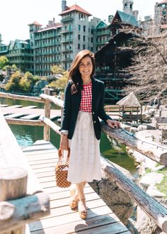 Mohonk Mountain House (May Mohonk Mountain House, Sarah Vickers, Flannel Dress, Classy Girl, Gingham Shirt, Gal Meets Glam, Dirty Dancing, Girls Wear, Preppy