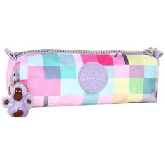 Kipling U.S.A. IF - Freedom Pen Case/Cosmetic Bag ($29) ❤ liked on Polyvore