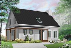 Visitez notre site internet pour voir les planchers et photos de cette maison ou pour commander vos copies de plan et liste des matériaux pour ce modèle.