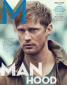 Über Fashion Marketing: Alexander Skarsgård na capa da M Magazine