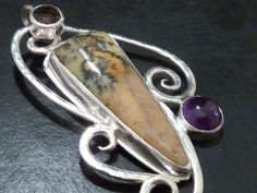 three stone pendant