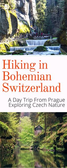 Day Trips From Prague: If you are looking for an active day trip from Prague look no further than Bohemian Switzerland. There's nothing quite like hiking in this national park, located just a few hours north of Prague Czech Republic. Places To Travel, Places To Visit, Travel Destinations, Day Trips From Prague, Prague Travel, Prague Shopping, Visit Prague, Prague Czech Republic, Vacation Trips