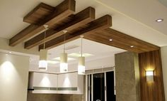 Wooden Ceiling Design, House Ceiling Design, Ceiling Design Living Room, Bedroom False Ceiling Design, Wooden Ceilings, Living Room Designs, House Design, False Ceiling Living Room, Decorating Your Home