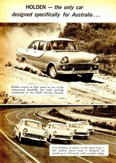 Classic Car News Pics And Videos From Around The World Holden Australia, Australian Cars, Car Brochure, Car Advertising, Vintage Advertisements, Ads, Paddle Boat, Back In The Day, Motor Car