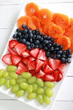 Fruit Salad - Gardening Fruit Salad - Gardening - Fruit Salad Colorful fruit salad – strawberries, blueberries, green grapes and oranges!<br> Fruit Salad Colorful fruit salad – strawberries, blueberries, green grapes and oranges! Fruit Smoothie Recipes, Fruit Recipes, Drink Recipes, Dessert Recipes, When To Eat Fruit, Healthy Fruits, Healthy Snacks, Fruit Snacks, Fruit Food