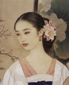 (China) by Zhao Guojing ) & Wang Meifang ). painting on silk. Figure Painting, Painting & Drawing, Art Asiatique, Art Japonais, China Art, Old Paintings, Chinese Painting, Beauty Art, Japanese Art
