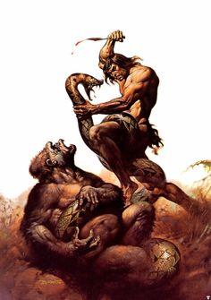 Tarzan by Boris Vallejo