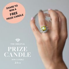 Want to win your own Prize Candle? Share to win. A prize up to $5000 in value in every candle. Enter here: https://gtnow.co/uzaxl