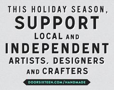 Independent Holiday Shops - support your local shops