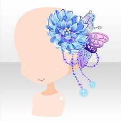(Head Accessories) Butterfly Jewelry with Smiling Mouth ver. Chibi, Fashion Games For Girls, Anime Girl Dress, Magical Jewelry, Cocoppa Play, Anime Hair, Head Accessories, Star Girl, Drawing Clothes