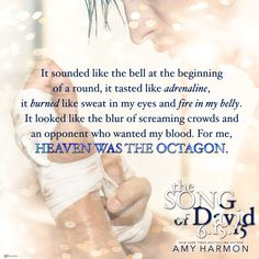The Song of David by Amy Harmon. Release date: June 15, 2015