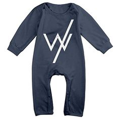 TLK Newborn American Rock Band Long Sleeve Jumpsuit Outfits 12 Months ** Learn more by visiting the image link.