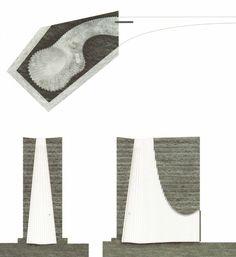 Image on Archisquare • Architettura Design Blog  http://www.archisquare.it/peter-zumthor-cappella-di-bruder-klaus-mechernich/