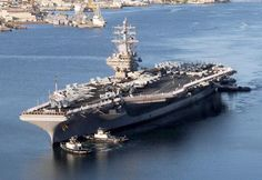Picture of the USS Ronald Reagan (CVN-76) USS Ronald Reagan CVN-76 is the ninth ship of the ten-strong Nimitz-class group of nuclear-powered aircraft carrier in service with the United States Navy today
