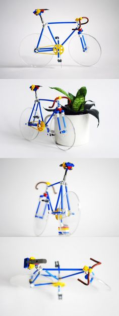 Lego Bicycle - Fix from Moscow!